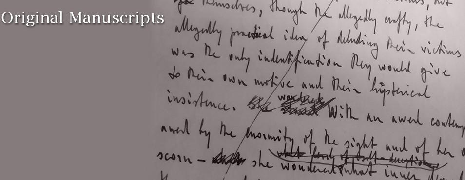 Ayn Rand Manuscripts